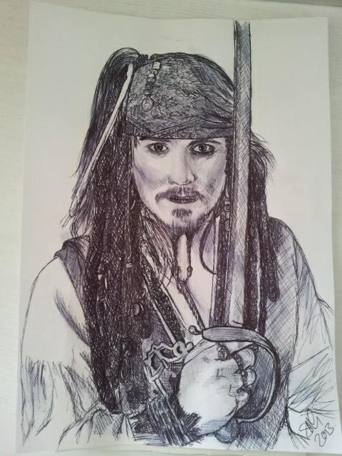 Johnny Depp by SusieG